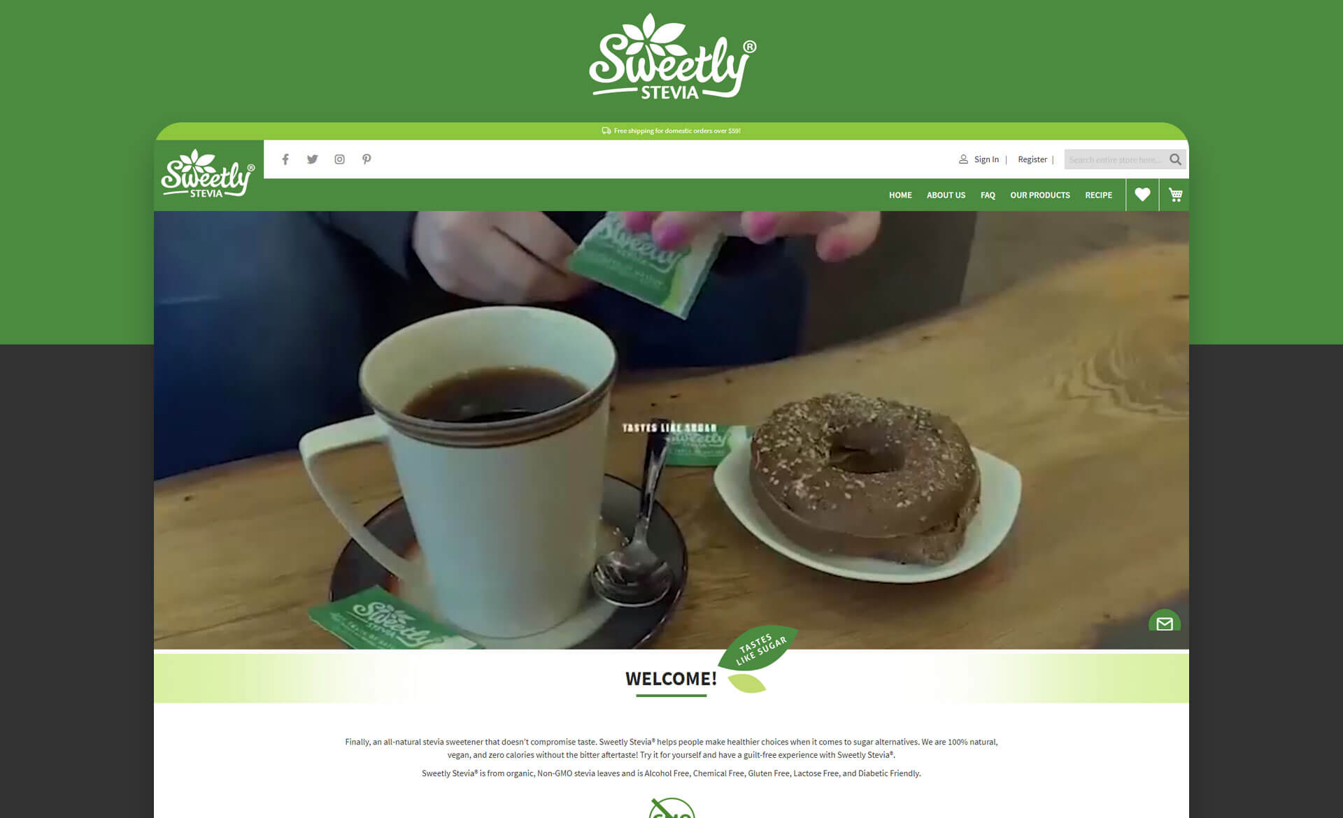 Sweetly Stevia USA