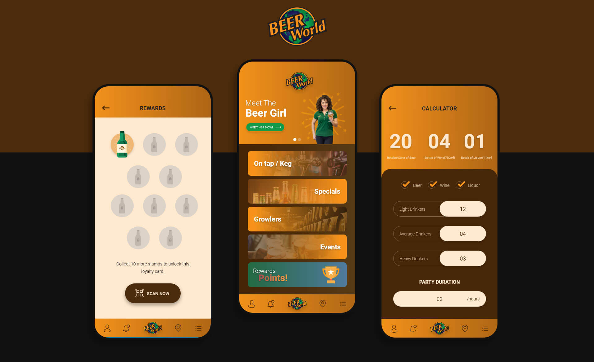 Beer World Store | Mobile Application